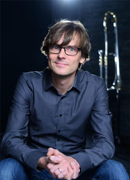 Jörg Vollerthun – Posaunist, Coach, Bandleiter